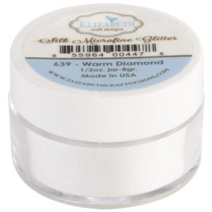 Elizabeth Craft Designs Silk Microfine Glitter 0.5oz – Warm Diamond