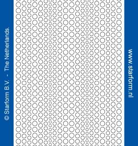 Starform Glitter Stickers 7018 – Black/Silver