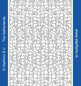 Starform Outline Stickers 1272 – Silver