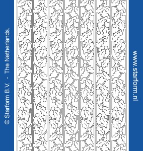 Starform Outline Stickers 8545 – Gold