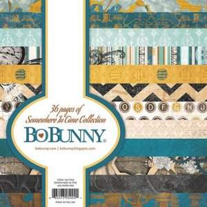 Bo Bunny 6×6 paper pack, Somewhere in Time