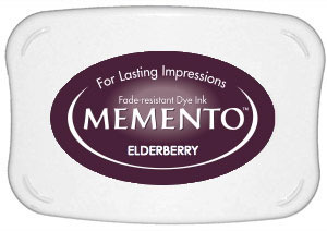 Memento Dye Ink Pad – Elderberry