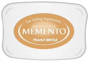 Memento Dye Ink Pad – Peanut Brittle