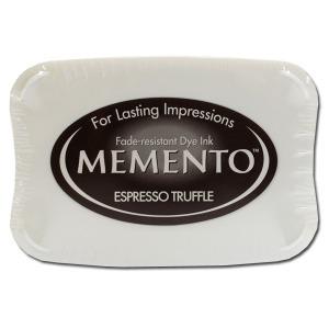 Memento Dye Ink Pad – Espresso Truffle