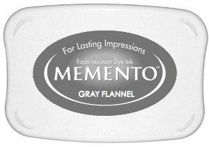 Memento Dye Ink Pad – Gray Flannel