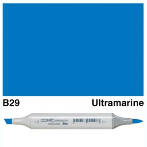 Copic Sketch B29-Ultramarine