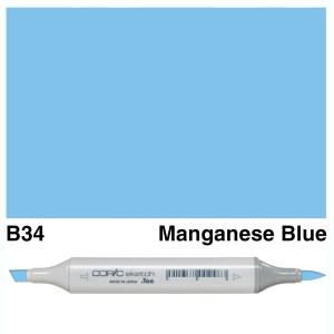 Copic Sketch B34-Manganese Blue