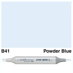 Copic Sketch B41-Powder Blue