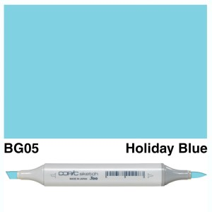 Copic Sketch BG05-Holiday Blue