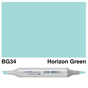 Copic Sketch BG34-Horizon Green