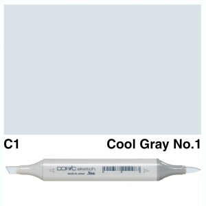 Copic Sketch C1-Cool Gray No.1