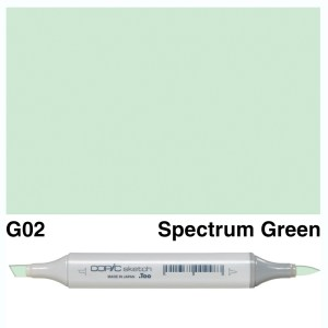 Copic Marker Sketch G02 Spectrum Green