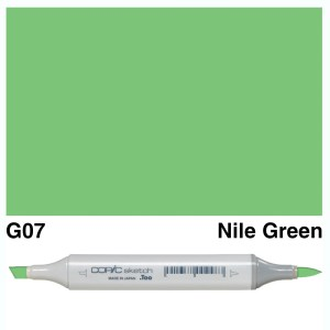 Copic Marker Sketch G07 Nile Green