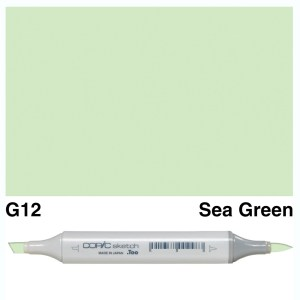 Copic Sketch G12-Sea Green
