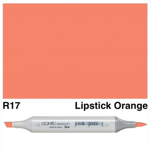 Copic Sketch R17-Lipstick Orange