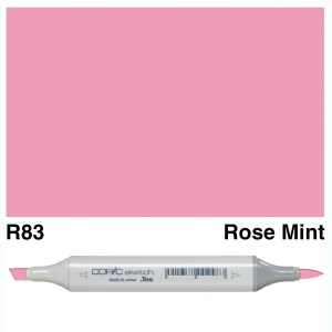 Copic Marker Sketch R83 Rose Mist