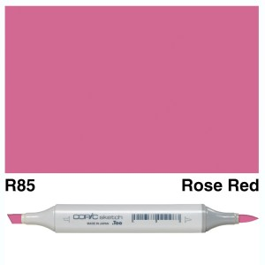 Copic Marker Sketch R85 Rose Red