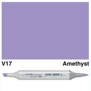 Copic Marker Sketch V17 Amethyst