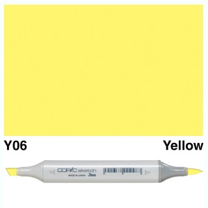Copic Marker Sketch Y06 Yellow