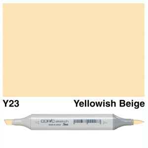 Copic Sketch Y23-Yellowish Beige