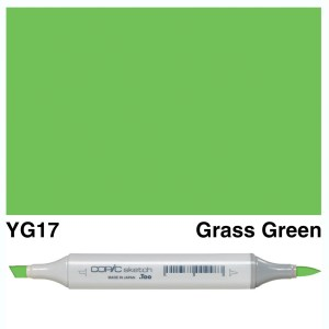 Copic Sketch YG17-Grass Green