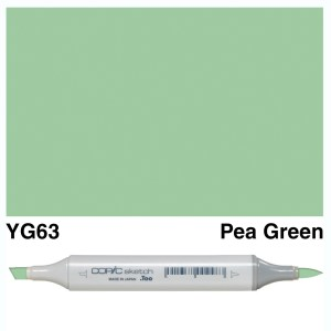 Copic Marker Sketch YG63 Pea Green