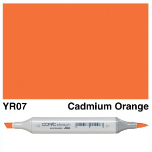 Copic Sketch YR07-Cadmium Orange