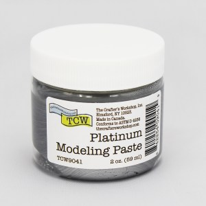 The Crafter's Workshop Platinum Modeling Paste 2 oz.