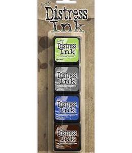 Tim Holtz Mini Distress Ink Kit 14