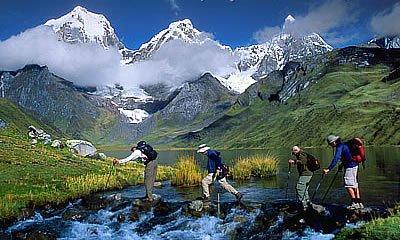 andinismo en el peru por el camino inca a machu picchu