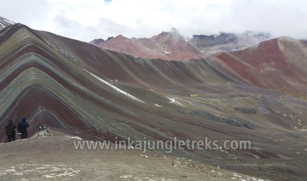 montaña de los 7 colores vinicunca ausangate trek inka jungle