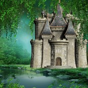 Storybook and Fairytale Theme Backdrops