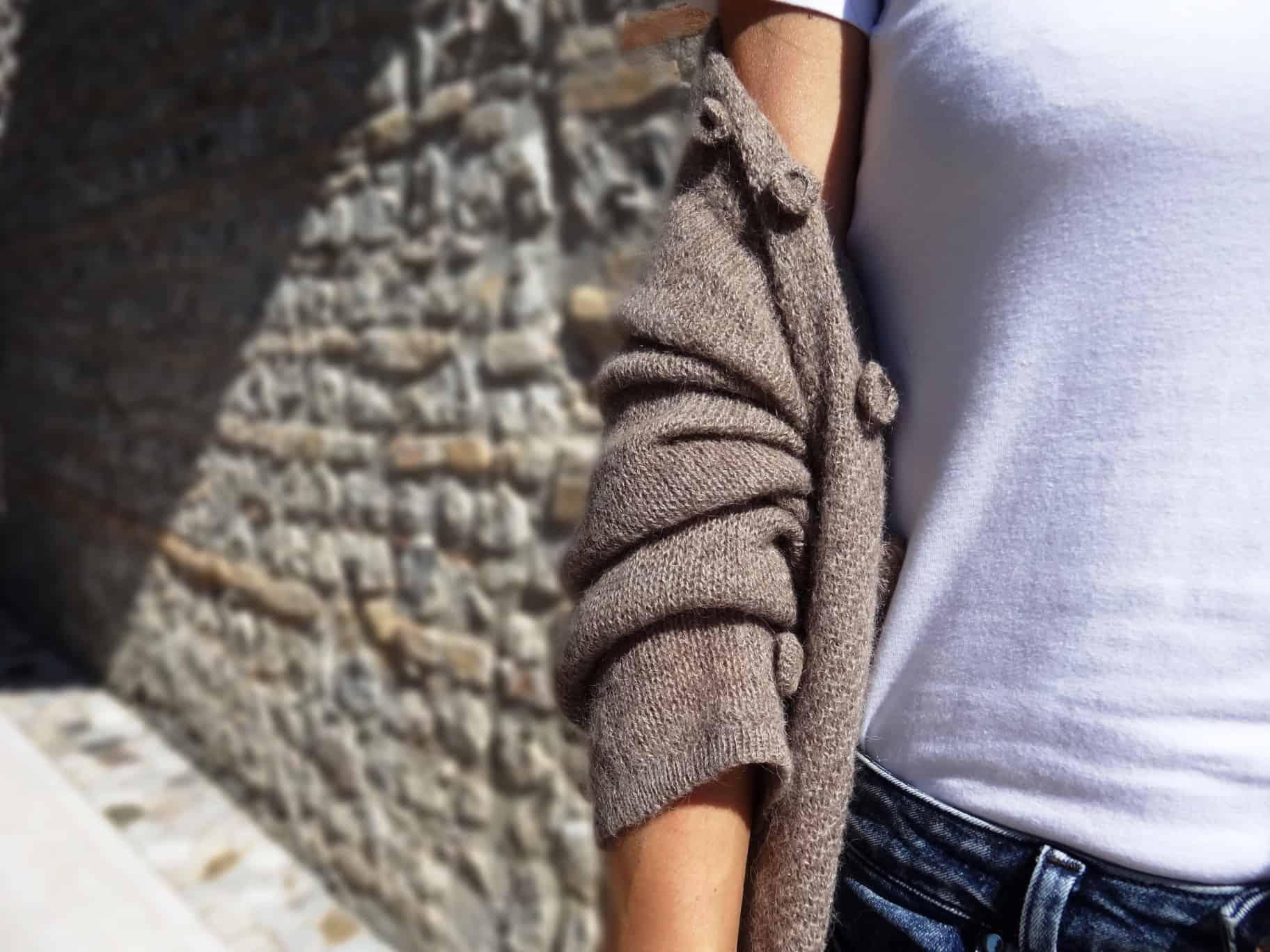 cardigan donna lungo lana alpaca primavera estate 2019