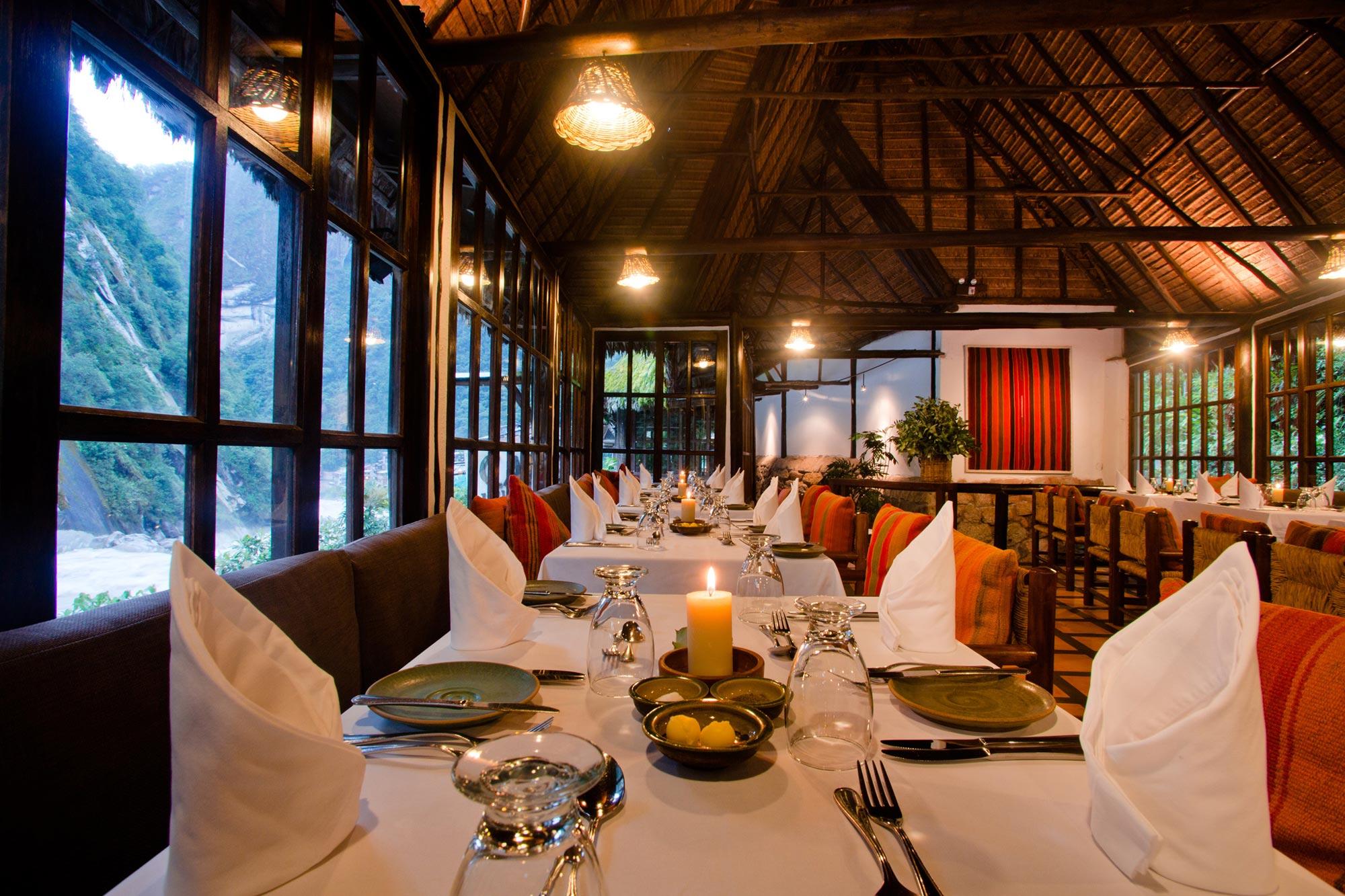 De Restaurante Peru Menu