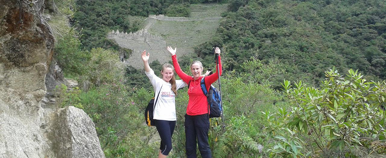 Inca Trail 2 days - Trekking to Wiñay Huayna