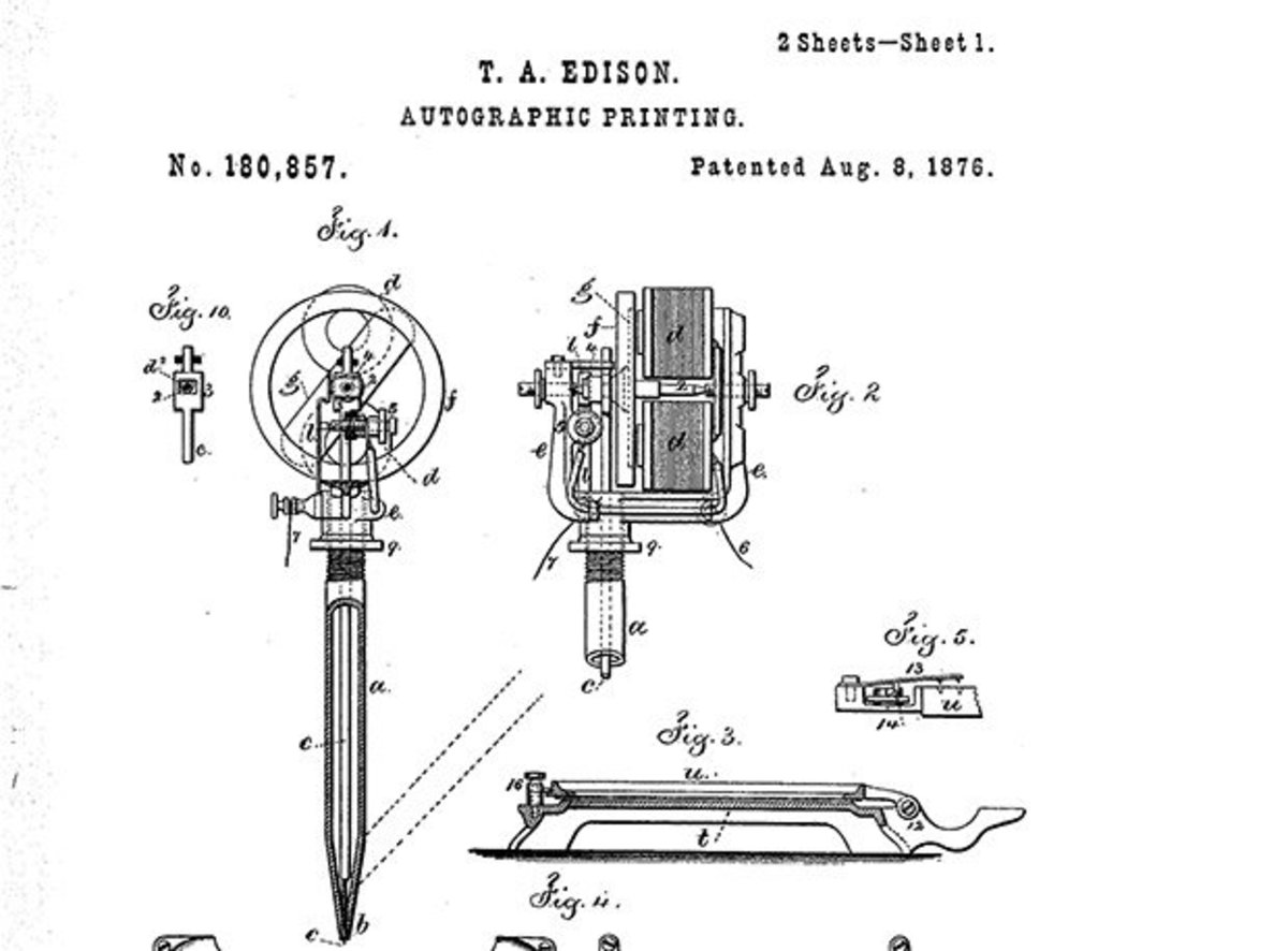 Did Thomas Edison Invent The Tattoo Machine