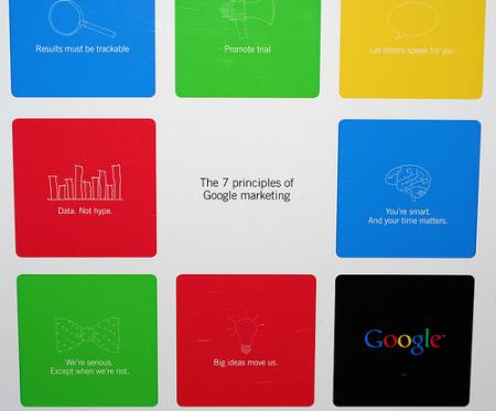 Los 7 principios de márketing en Google