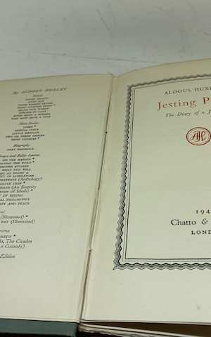 Jesting Pilate: the diary of a journey