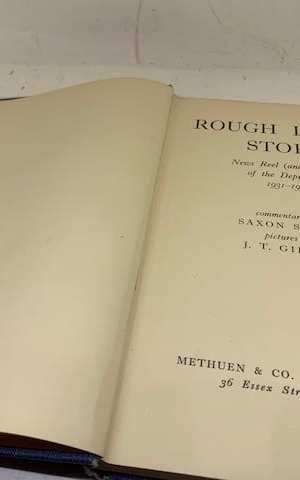 Rough Island Story: News Reel (and Unreal) of the Depression (1931-1935)