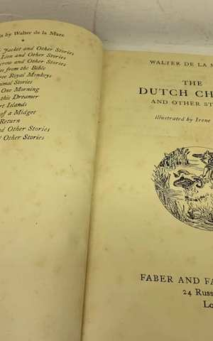 The Dutch Cheese and Other Stories