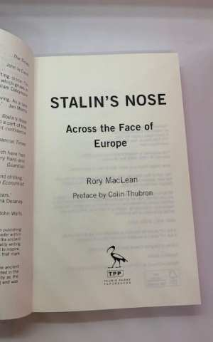Stalin's Nose, across the face of Europe