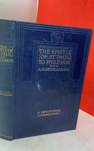 St Paul's Epistle to Philemon