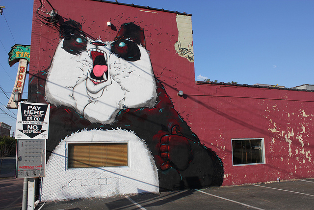 Mural by Angry Woebots