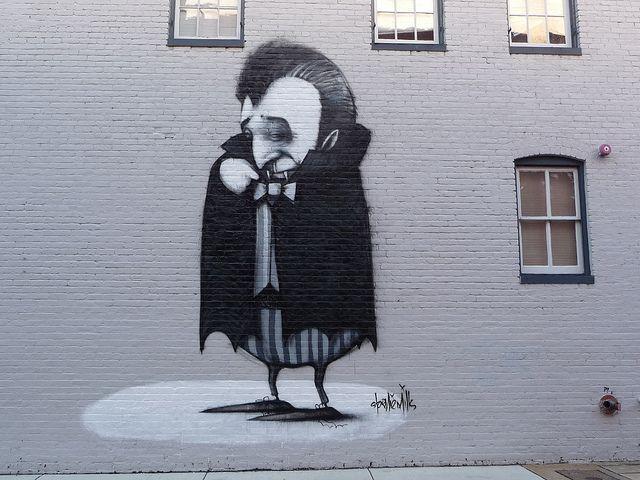 Mural by Australian street artist Stormie Mills