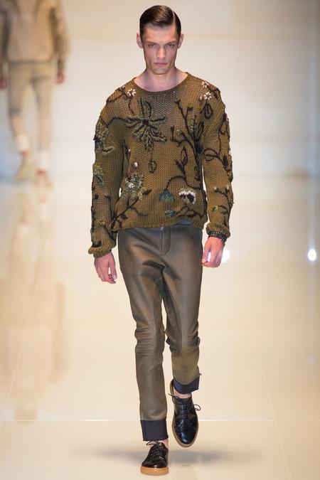 Gucci Menswear S/S 2014 (Photo: Yannis Vlamos / InDigital | GoRunway)