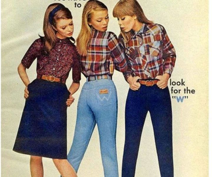 They say fashion is cyclical, if that's so, what were the origins of mom jeans, and how did they come back in style after the 90210 '80s era? What makes the classic high waist, straight leg jean so popular for millennials? And why is there such a negative connotation surrounding them?