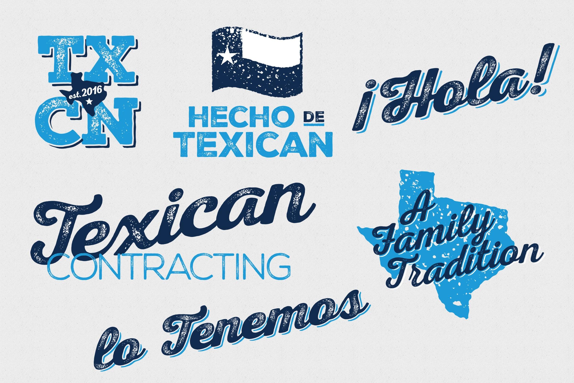 San Antonio Design Texican Logo ID