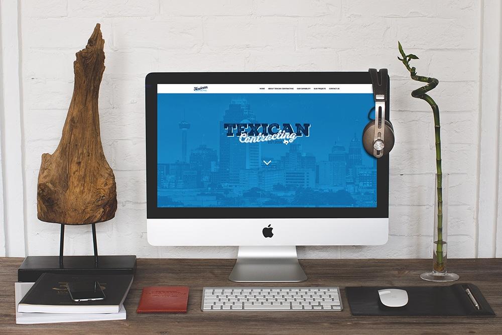 San Antonio Web Design Texican Website