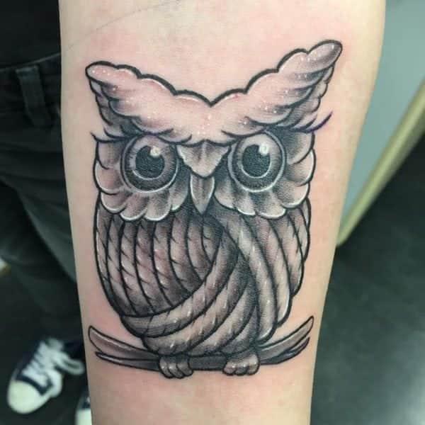 447fec1da 122 Amazing Owl Tattoos Their Meanings