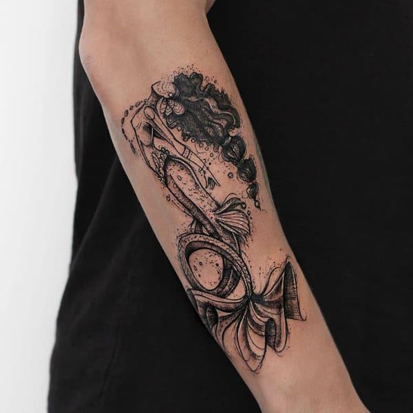 mermaid tattoo 36